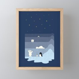 now you see me Framed Mini Art Print