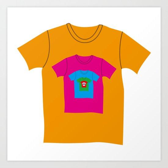 Infinite T-shirt Art Print