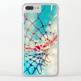 The Object Of Basketball Clear iPhone Case