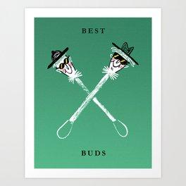 Best Buds I Art Print