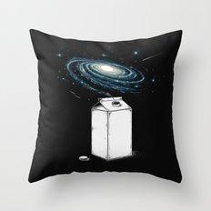 Milky Galaxy Throw Pillow