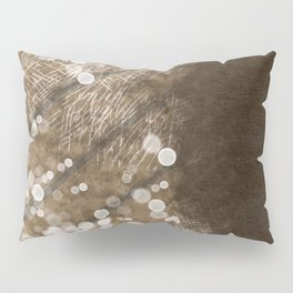 Brown Illusion Pillow Sham