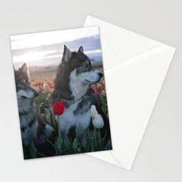 Floral Brothers Stationery Cards