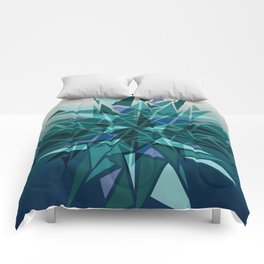 Cracked Icicles Comforters