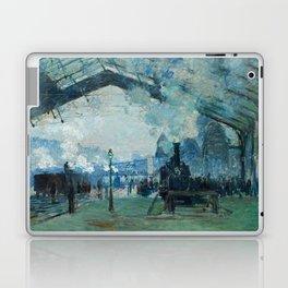 "Claude Monet ""Arrival of the Normandy Train, Gare Saint-Lazare"" Laptop & iPad Skin"