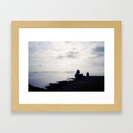 Viking Rock Framed Art Print