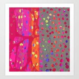 Falling Together (7) Art Print