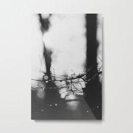 lonely leaf Metal Print