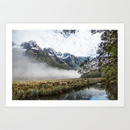 The Road to Milford Sound Art Print