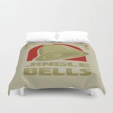 Jingle Bell - Gold Duvet Cover