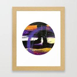 Window Abstract Framed Art Print
