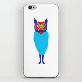 Animal Mardi Gras: Owl iPhone Skin