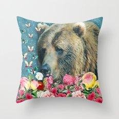 Summer Garden 3 Throw Pillow