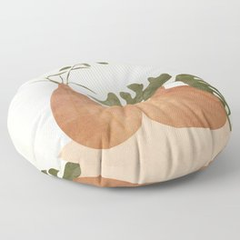 Two Living Vases Floor Pillow