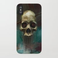robin hood iPhone & iPod Cases featuring Robin by Anne the Viking