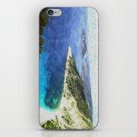 greek iPhone & iPod Skins featuring Greek coastline by Brian Raggatt