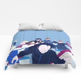 Yuri!!! on Ice Minimalism Comforters