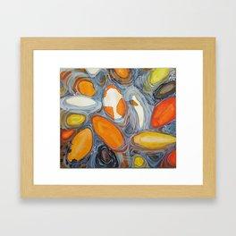 Koi Surfacing Framed Art Print