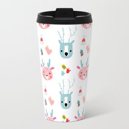 cute deer Travel Mug