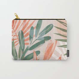 Tropical Leaves 4 Carry-All Pouch