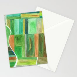 Land Aerial View Stationery Cards