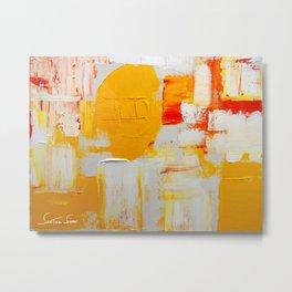 Pingo Dourado Metal Print