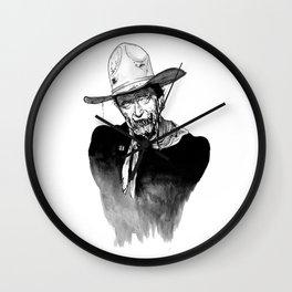 Zombie Wayne. Wall Clock