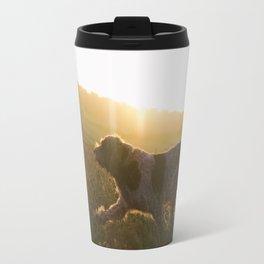 Brown Roan Italian Spinone Dog Travel Mug