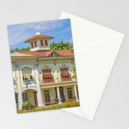Historic Buildings, Parque Historico, Guayaquil, Ecuador Stationery Cards