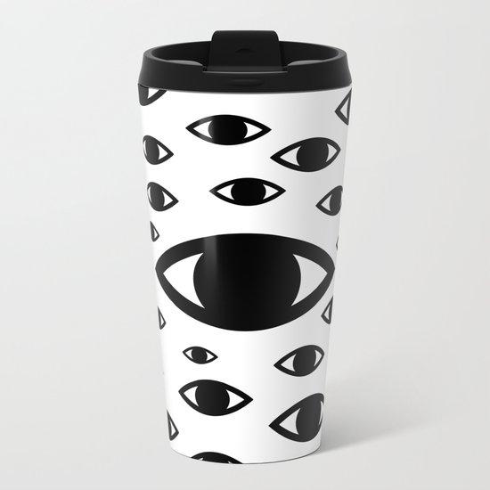 CLAIRVOYANT Metal Travel Mug