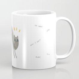 Scaredy Cat Coffee Mug