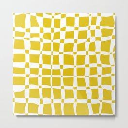 102 pattern Metal Print