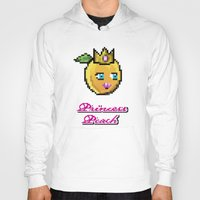 princess peach Hoodies featuring Princess Peach by Sam Pea