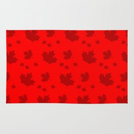 Canada Maple Leaf-Large-Red Rug