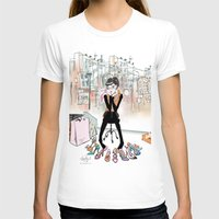 shoe T-shirts featuring Shoe Boutique by Sonya Parra