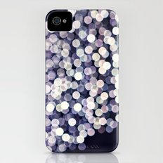 Little White Circles iPhone (4, 4s) Slim Case