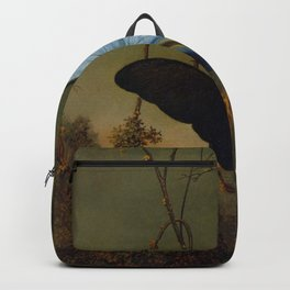 Blue Morpho Butterfly 1865 By Martin Johnson Heade   Reproduction Backpack