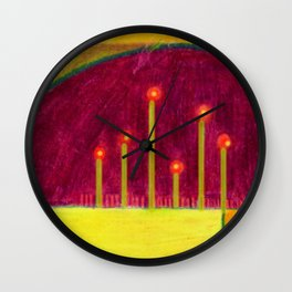Into the Green 3 Wall Clock