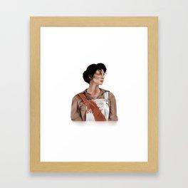 Claire Elizabeth Beauchamp Randall Fraser - Outlander Framed Art Print