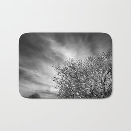 Flowering almond. Winter spring. BN Bath Mat
