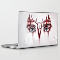 will graham Laptop & iPad Skins featuring Will Graham This is my design by ribkaDory
