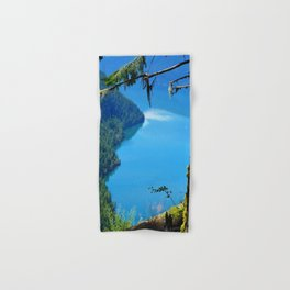 Nature's Window - Lake Slocan, BC, Canada Hand & Bath Towel