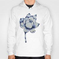lotus flower Hoodies featuring Lotus by Lily Sayang