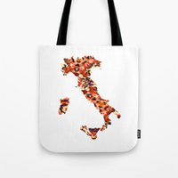italy Tote Bags featuring Italy by In Full Color