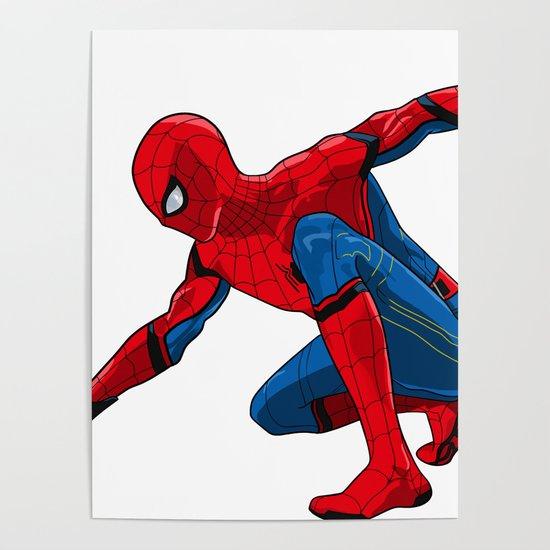 Spider-Man by laurahelsbyart