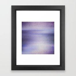 The blue Hour Framed Art Print