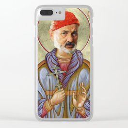 Saint Zissou Clear iPhone Case