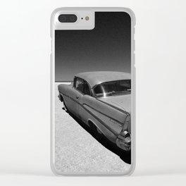 55 56 57 Bel Air Hot Rods Clear iPhone Case