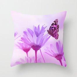 Butterfly 76 Throw Pillow