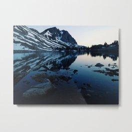 Pika lake Metal Print